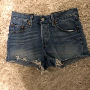 Levi's Shorts - Levi's 501 DENIM SHORTS high rise